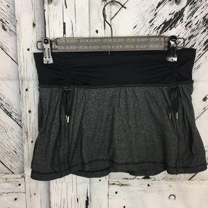 Lululemon hot n sweaty skirt in black